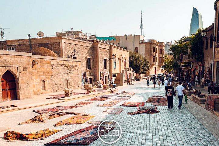 بازار قدیمی و سنتی باکو
