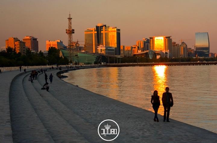 ساحل باکو آذربایجان