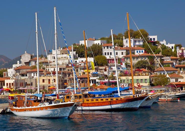 سفر با قایق در مارماریس