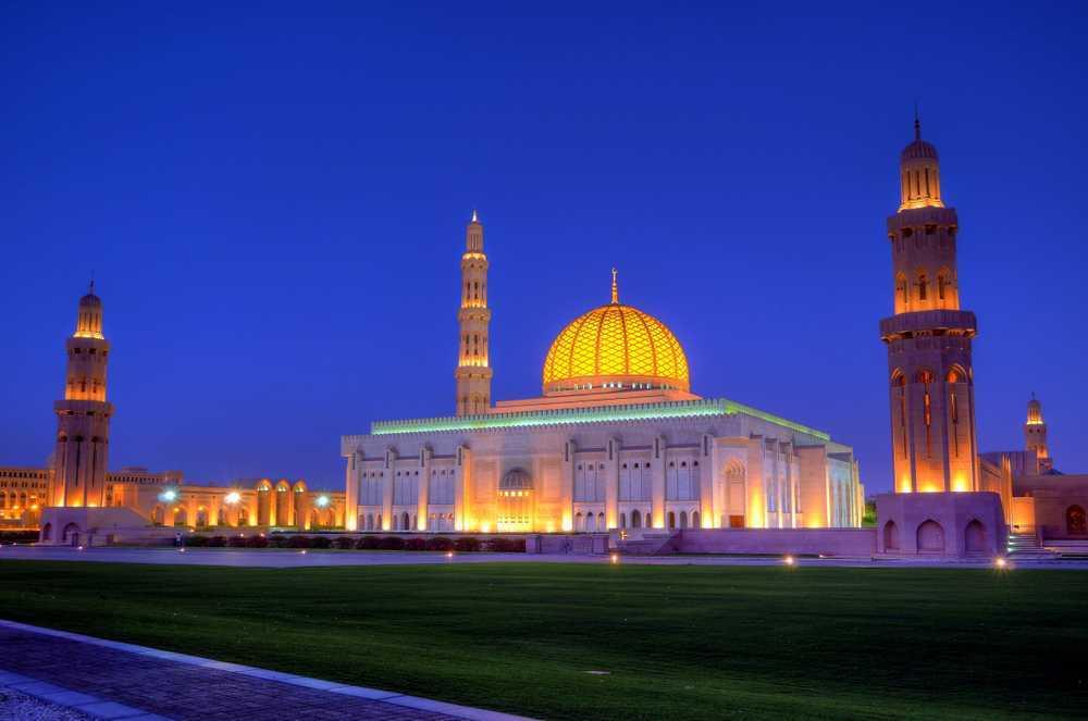مسجد جامع بزرگ مسقط