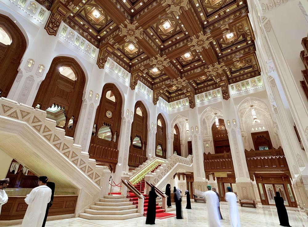 سالن اپرای مسقط عمان