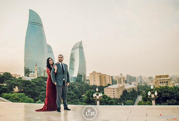 برج های شعله باکو