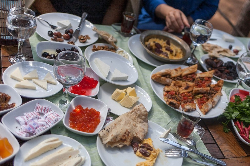 بهترین نقاط صبحانه و ناهار در ادرنه ترکیه